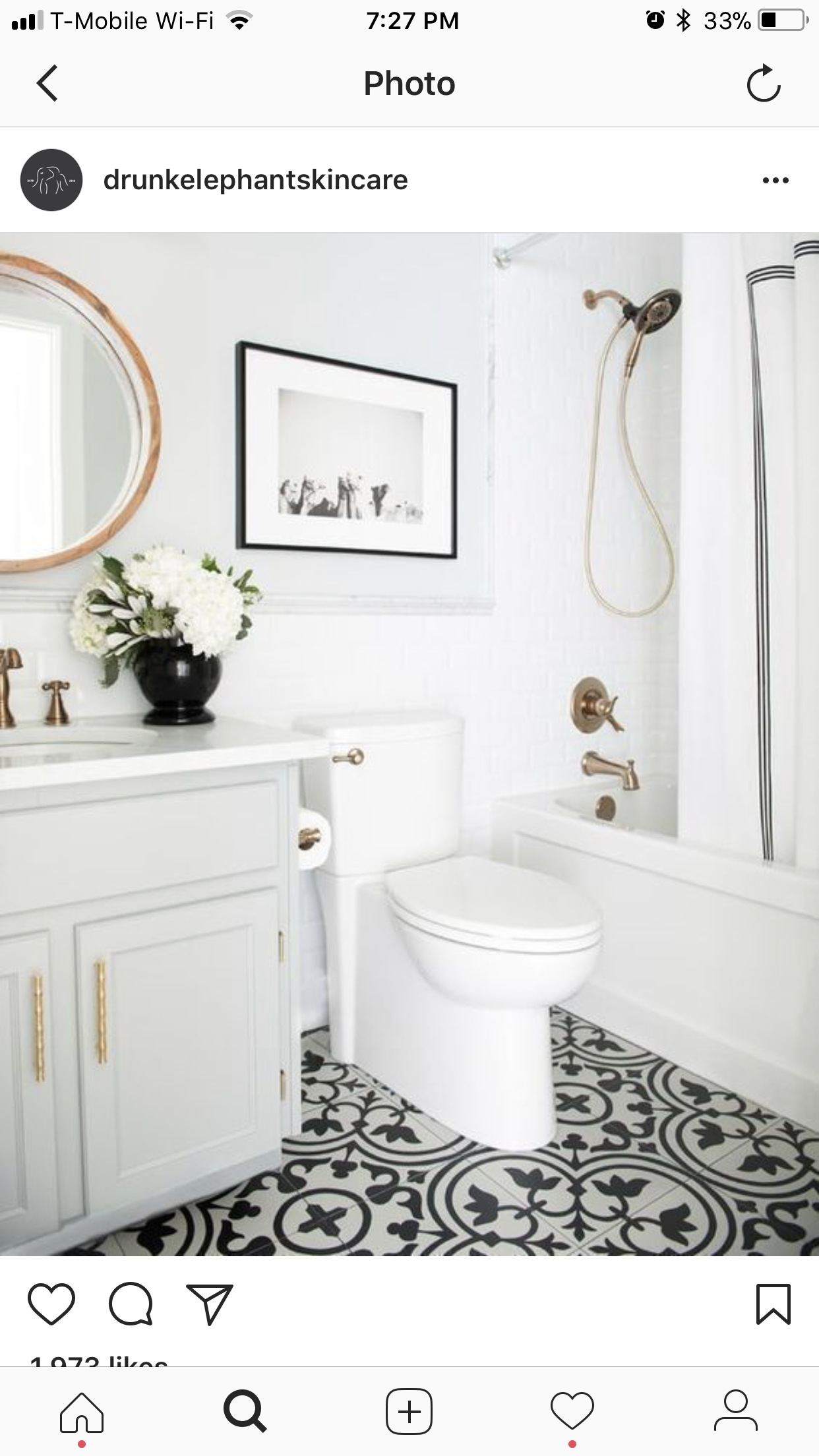 Love the tile | Bathroom project | Pinterest | Downstairs bathroom ...