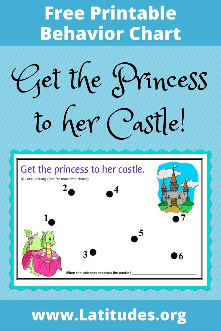 FREE Incentive Chart (Princess to Castle | Pinterest | Behaviour ...