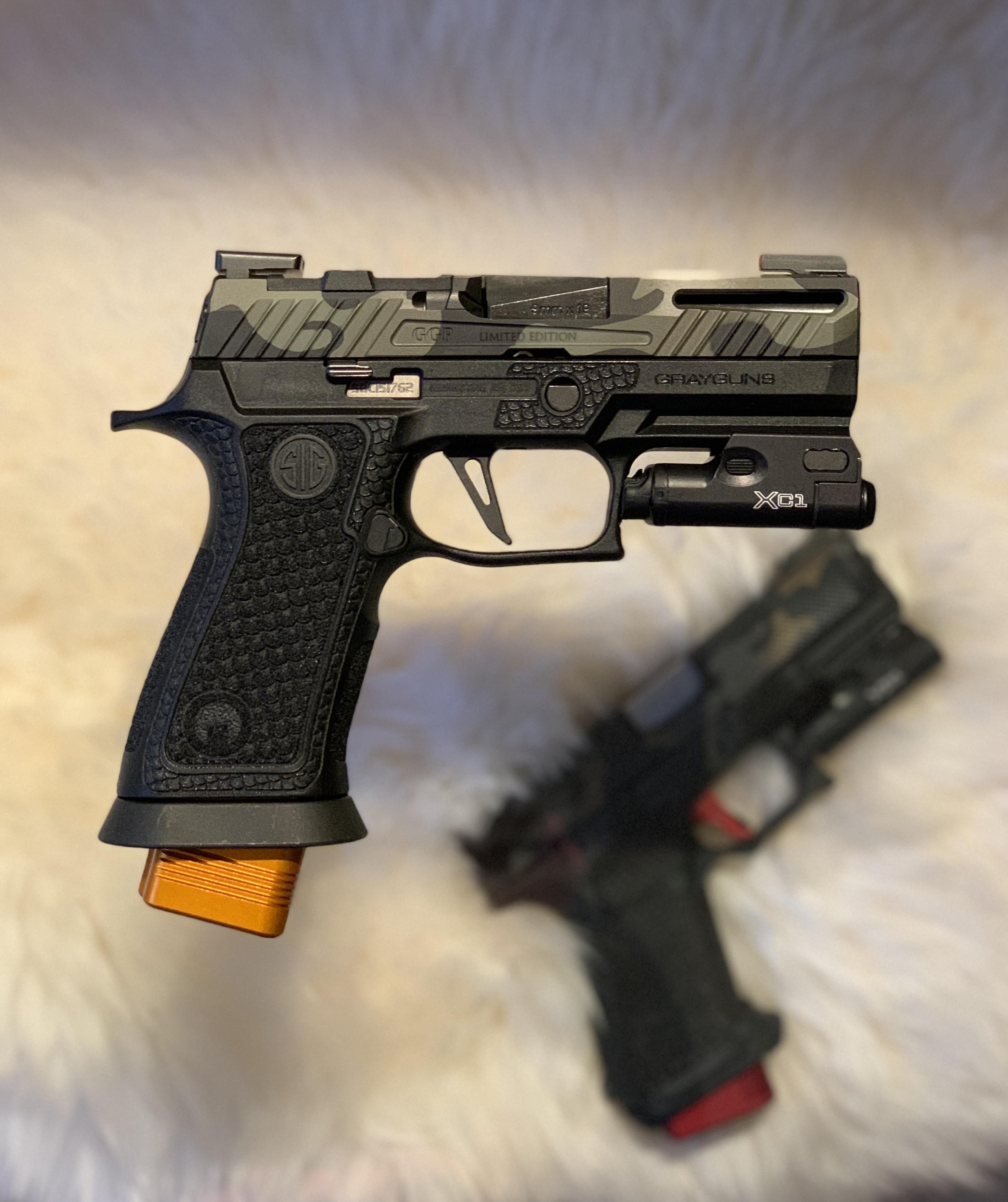 One Last One I Forgot To Post Here Customized Sig P320 X Carry