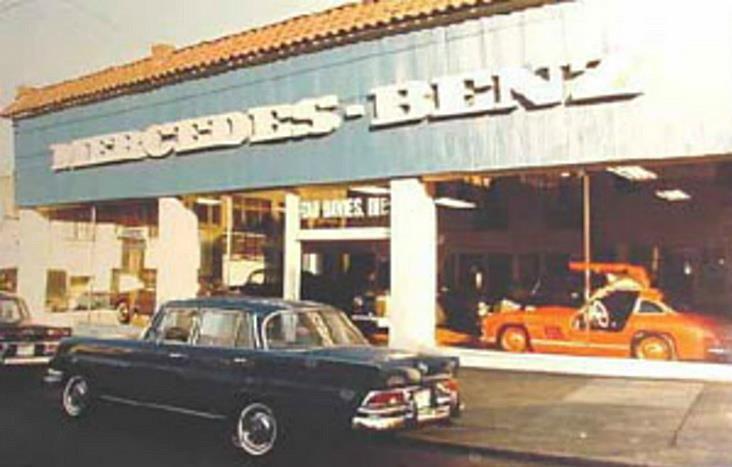 Mercedes Benz Seattle >> Phil Smart Mercedes Benz Seattle 1959 Vintage Car