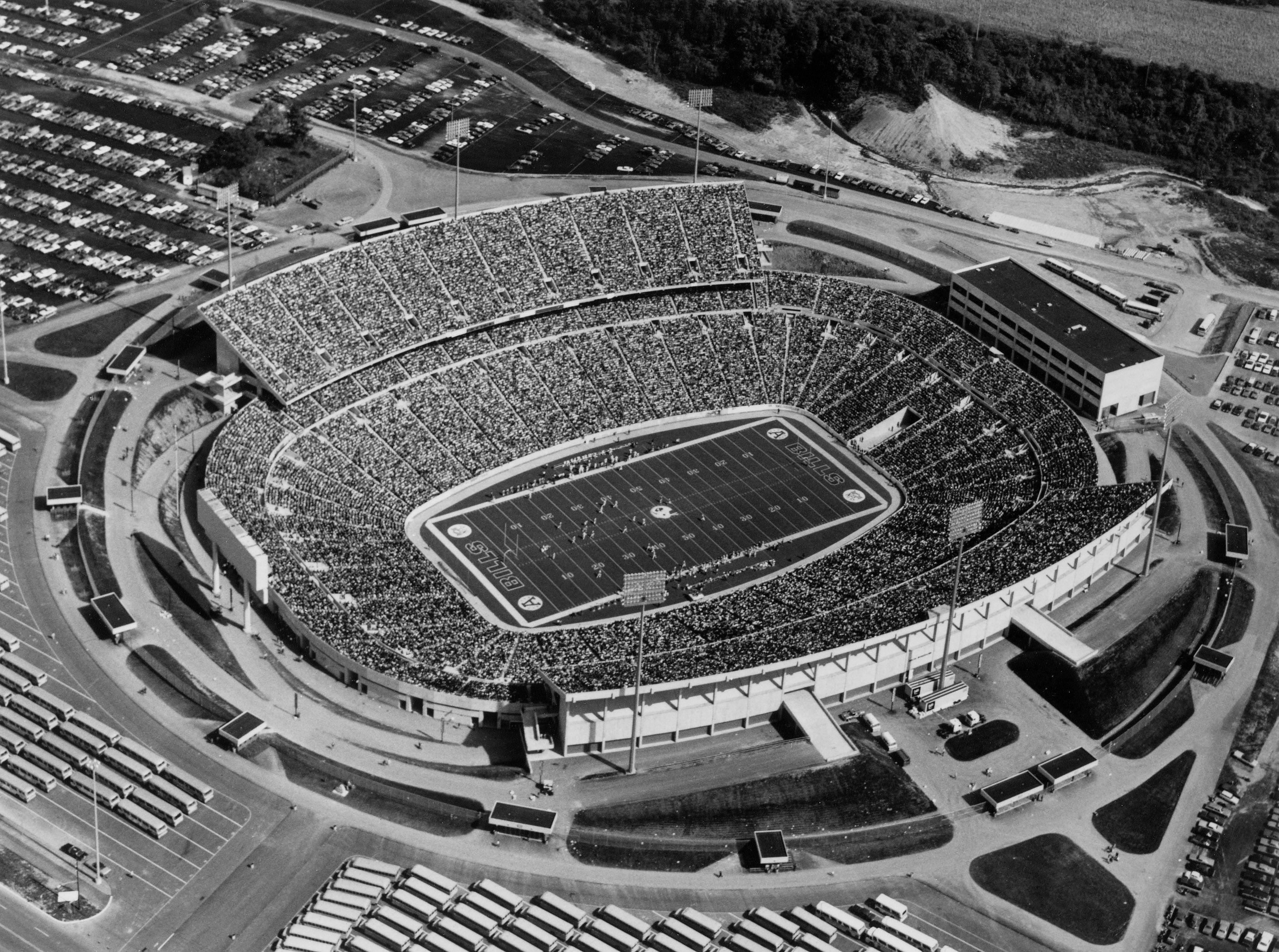 Today In Buffalo Bills History April 4 1972 Groundbreaking Ceremonies Were Held On The Ground Tha Buffalo Bills Football Ralph Wilson Stadium Nfl Stadiums