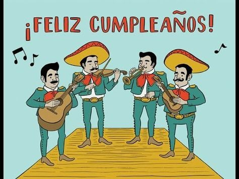 Happy Birthday Mexican Version