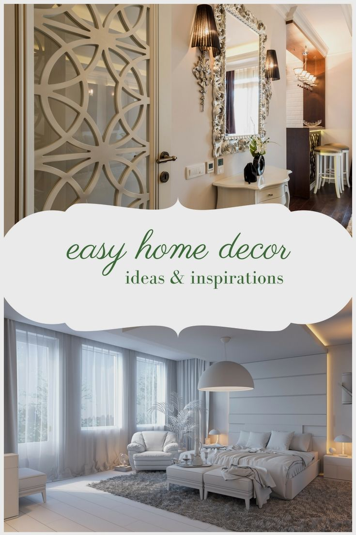 Easy and Simple Home Decor Creative Ideas - Using These Trouble-free ...