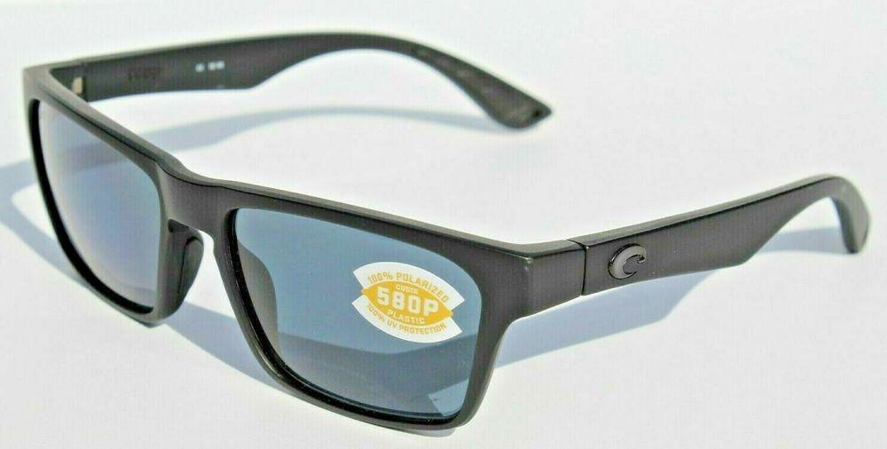 68b9523a7e6 COSTA DEL MAR Hinano POLARIZED Sunglasses Blackout Gray 580P NEW  affilink   polarizedsunglasses