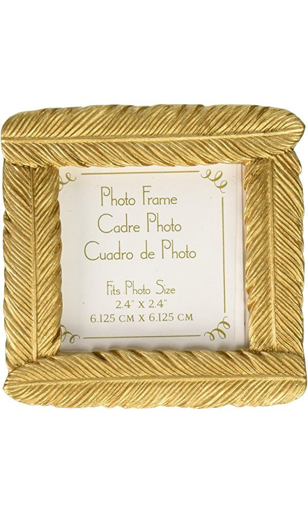 Kate Aspen Gold Feather Frame Best Price | Home Products and Gifts ...