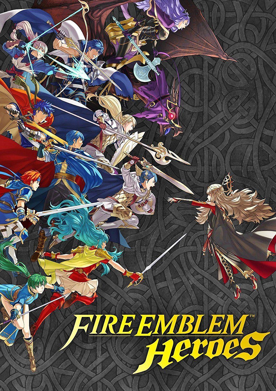 fire emblem heroes poster new fire
