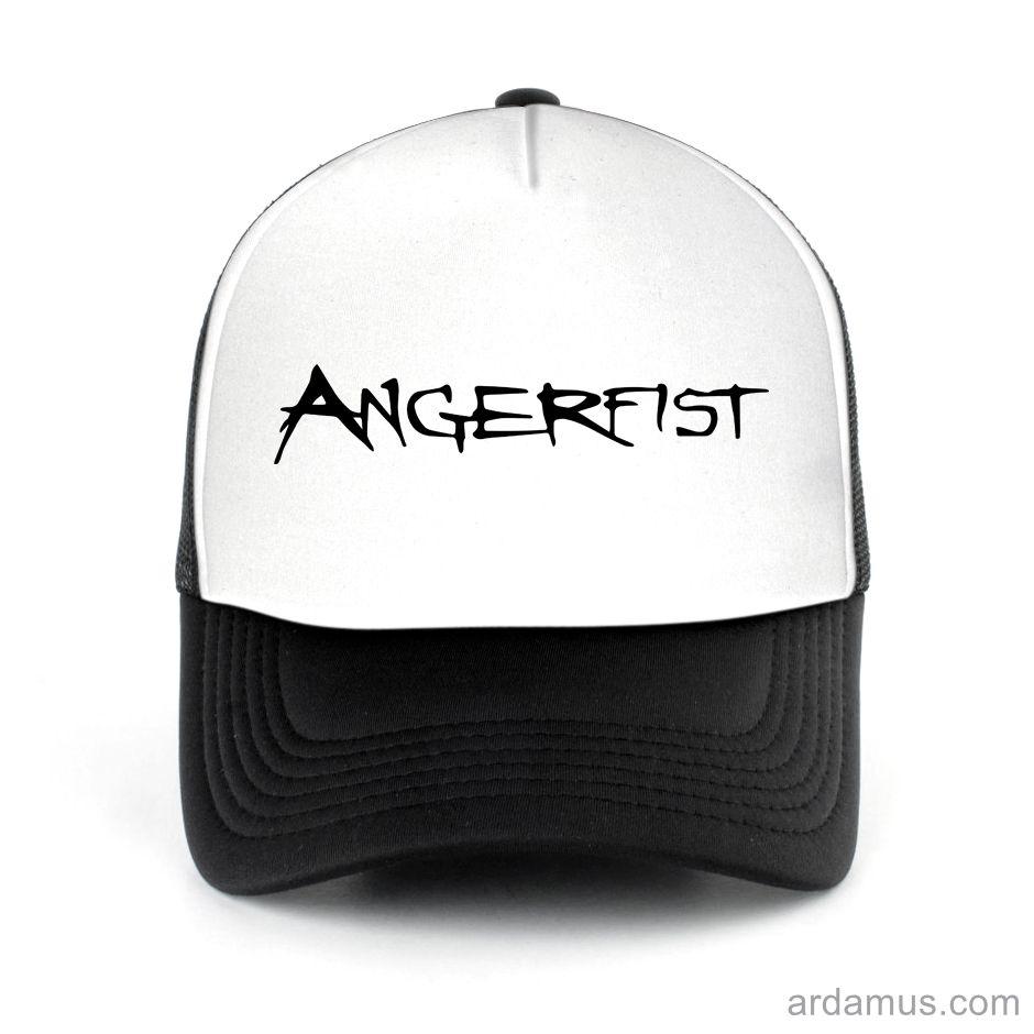 Angerfist Trucker Hat for men or women. Available color black, red, pink, green. Shop more at ARDAMUS.COM #djtruckerhat #djcap #djsnapback #djhat