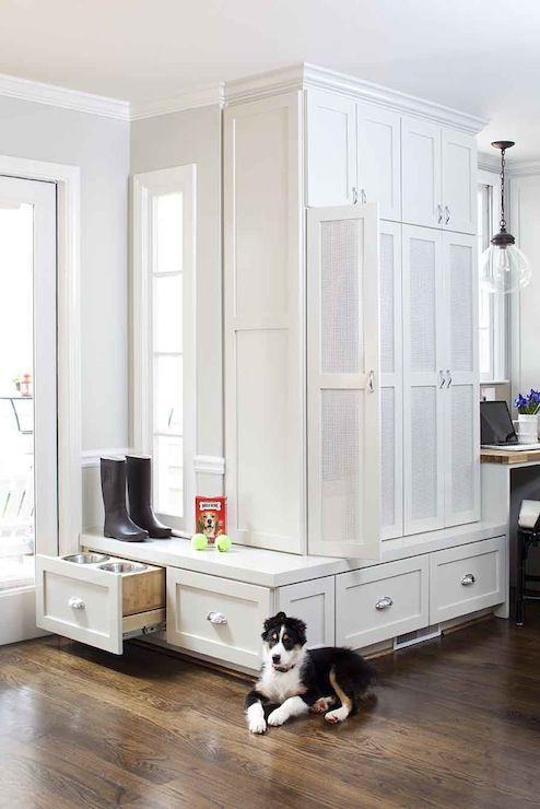 Terracotta Properties Home Mudroom Lockers Kitchen Renovation