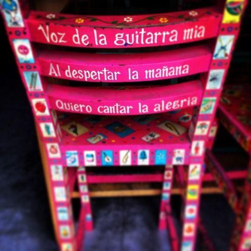 Mexican Chair,Mexican Song Mexican Color  Mexico Lindo Y Querido!