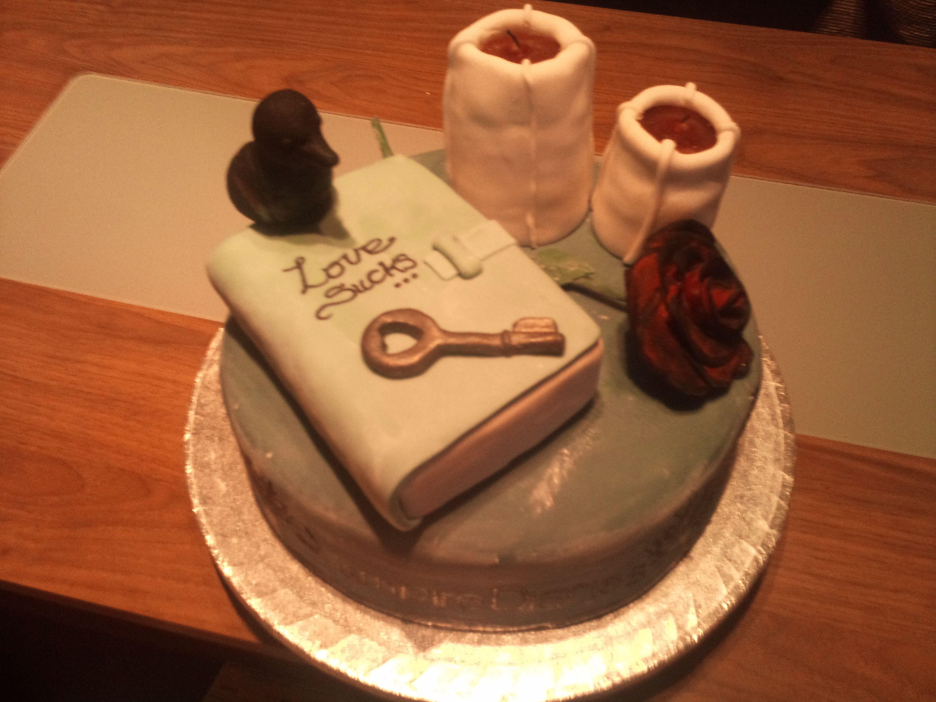 Google themes vampire diaries - Chloe S Vampire Diaries Cake