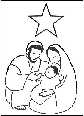 Coloriage Sainte Famille.Image Result For Sainte Famille A Colorier Catholique