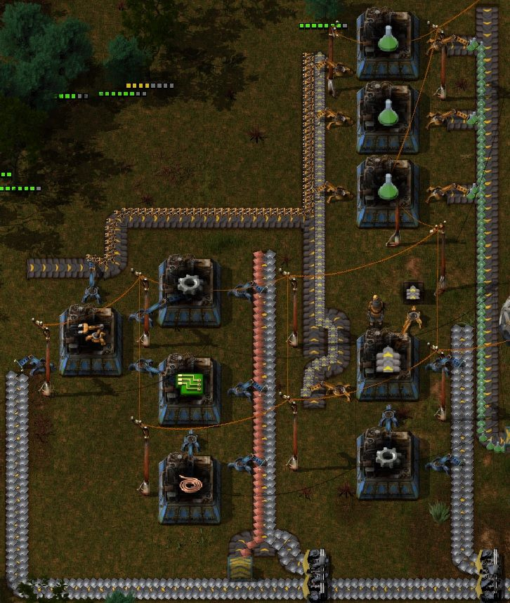 Factorio Guide Green Science Automation Compelte Overview (