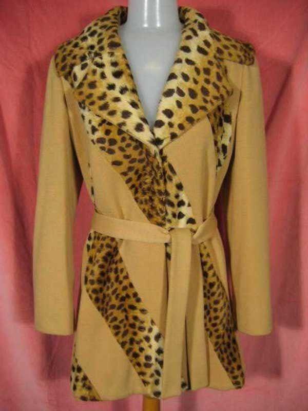 1960s Lilli Ann Jacket Leopard Print at Robin Clayton Vintage