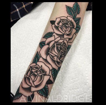 Fine Tattoo Work Orange California Flores Alejandro