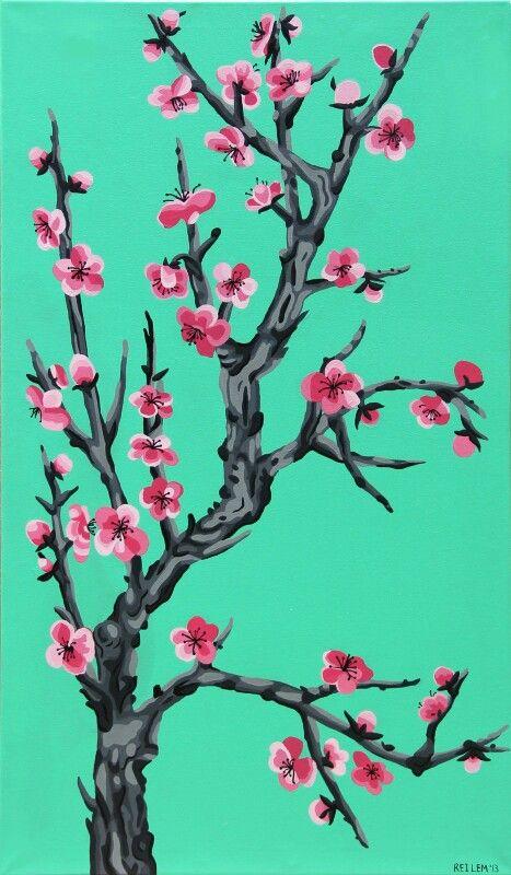 Cherry Blossom Tree Arizona Green Teas Tea Wallpaper Wallpaper