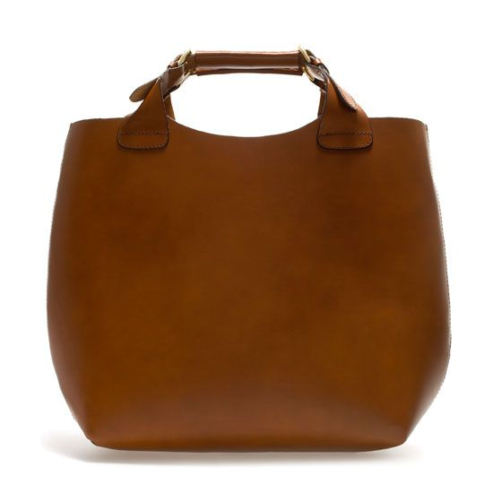 22d0b322c4a simple, pretty shopper tote from Zara | Carry | Zara bags, Trendy ...