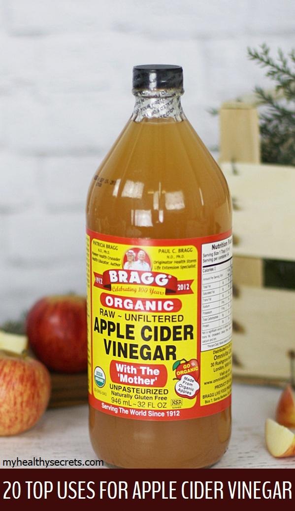 20 Top Uses For Apple Cider Vinegar My Healthy Secrets