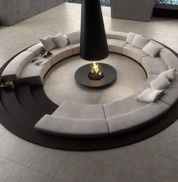 Beautiful fire place socialite :P