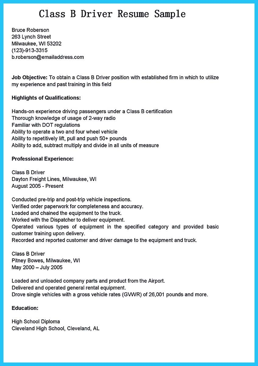 Truck Driver Resume No Experience Awesome Truck Driver Resume No Experience