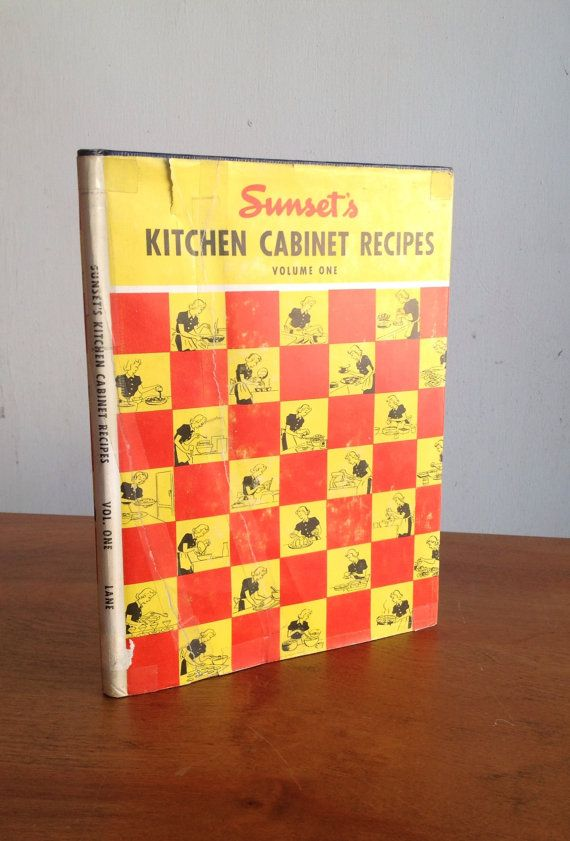 Vintage Sunset's Kitchen Cabinet Recipes Volume One by modluv, $15.00