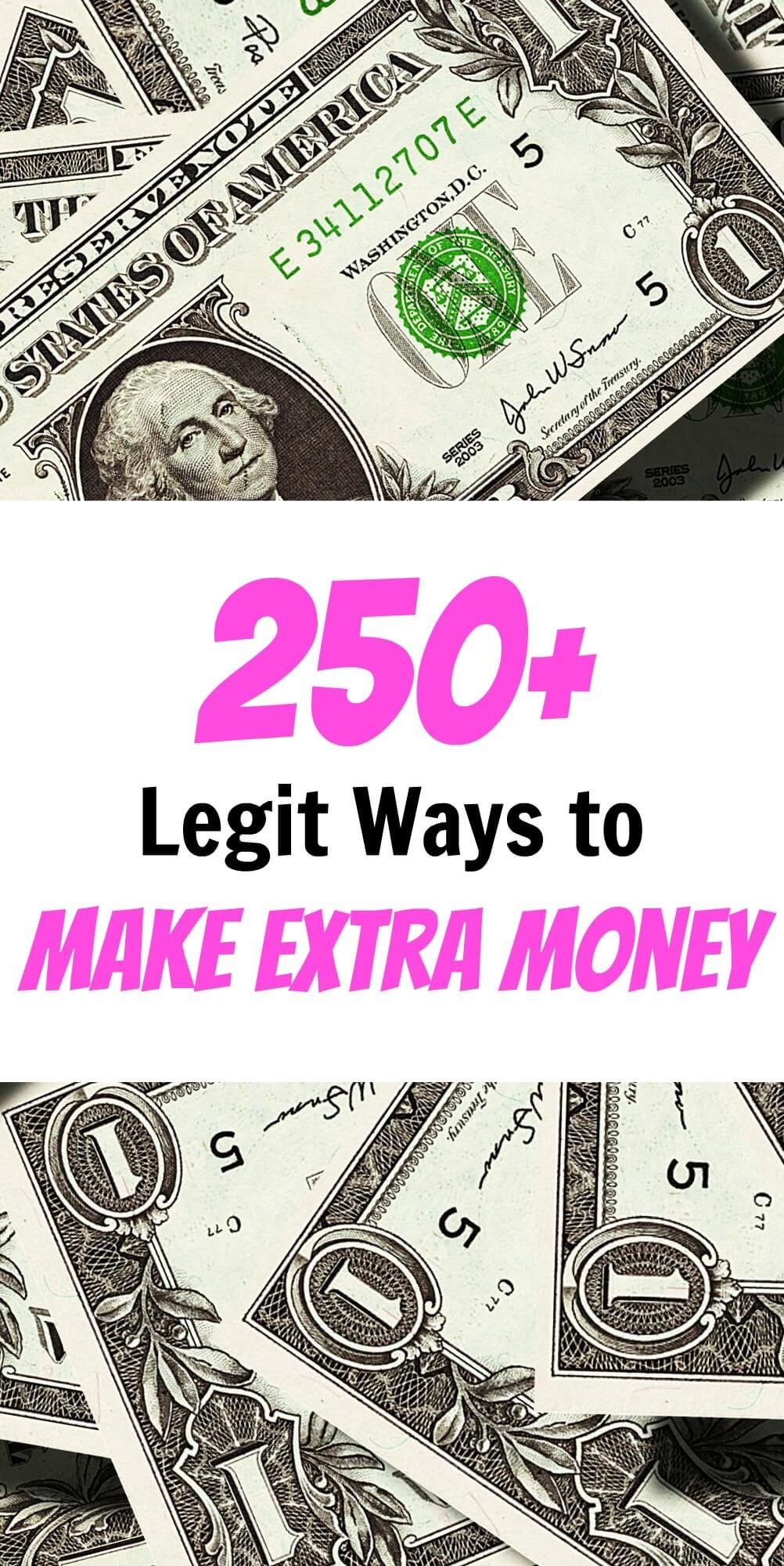 250+ Proven Ways to Make Extra Money in 2018: The Ultimate Guide ...