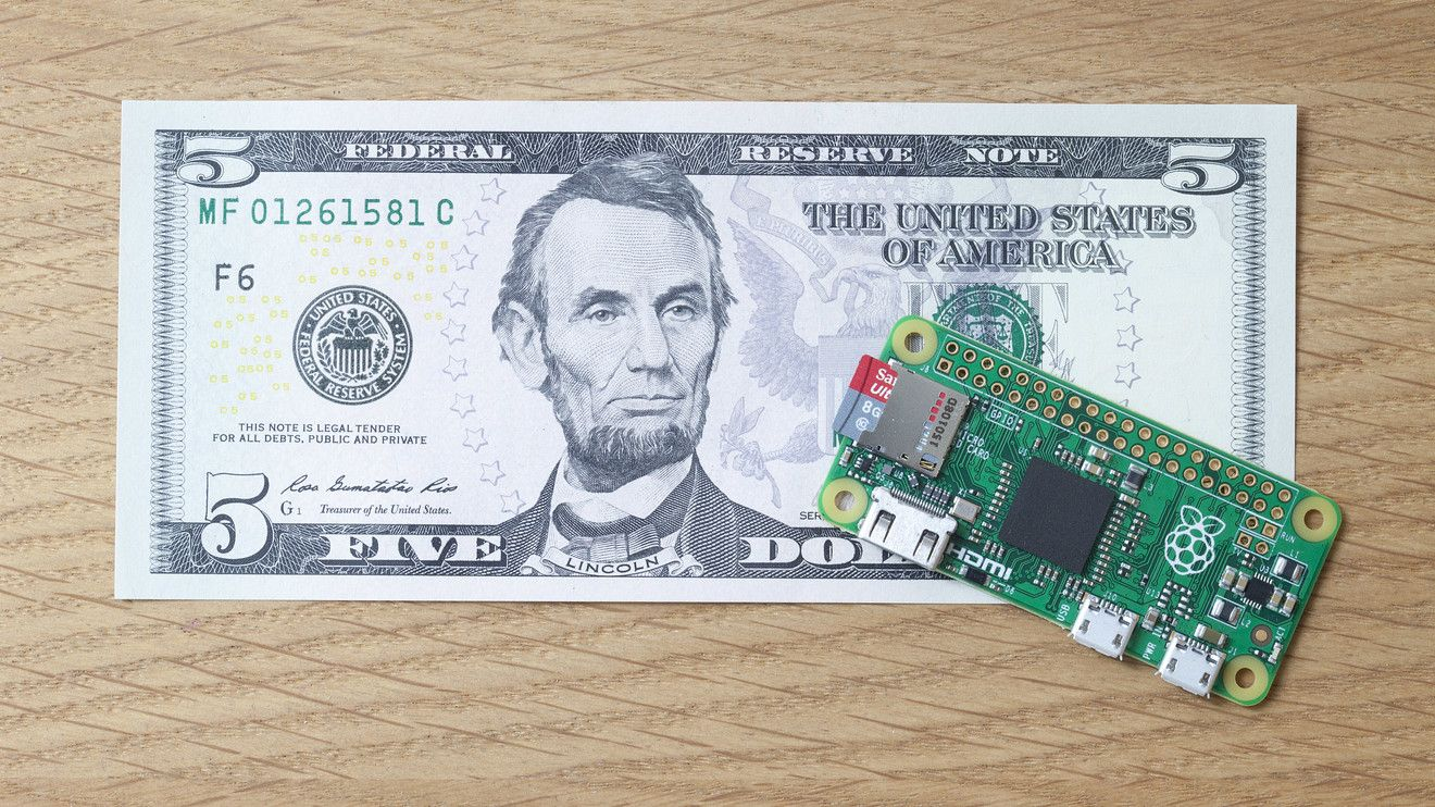Video: A look at the Pi Zero, the computer that costs only $5 #PiZero, #Tech