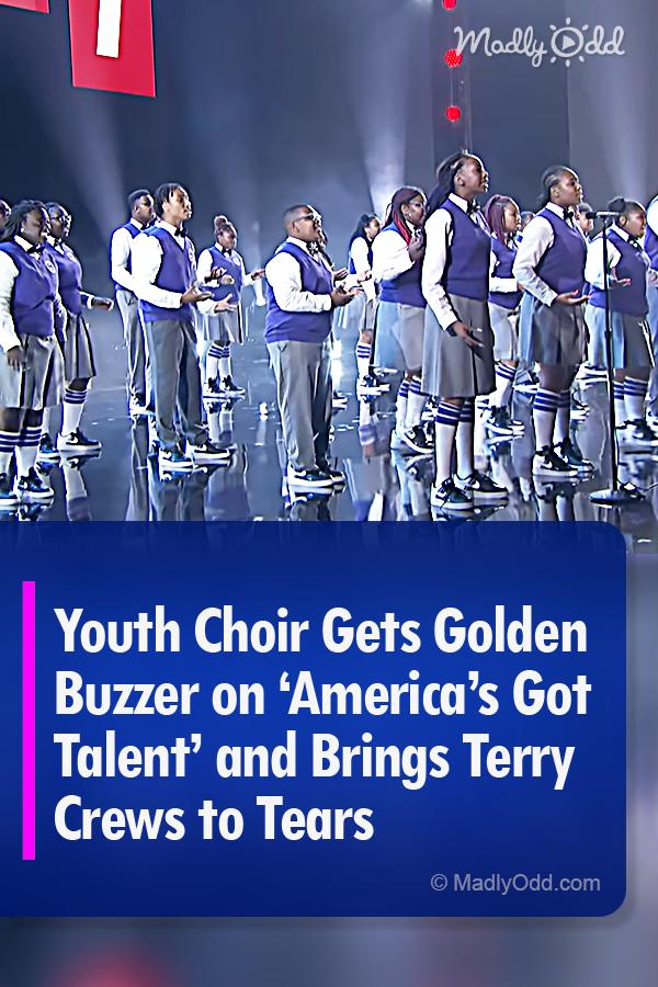 Detroit Youth Choir Gets Golden Buzzer On Agt And Brings Tery Crews To Tears Got Talent Videos Choir America S Got Talent