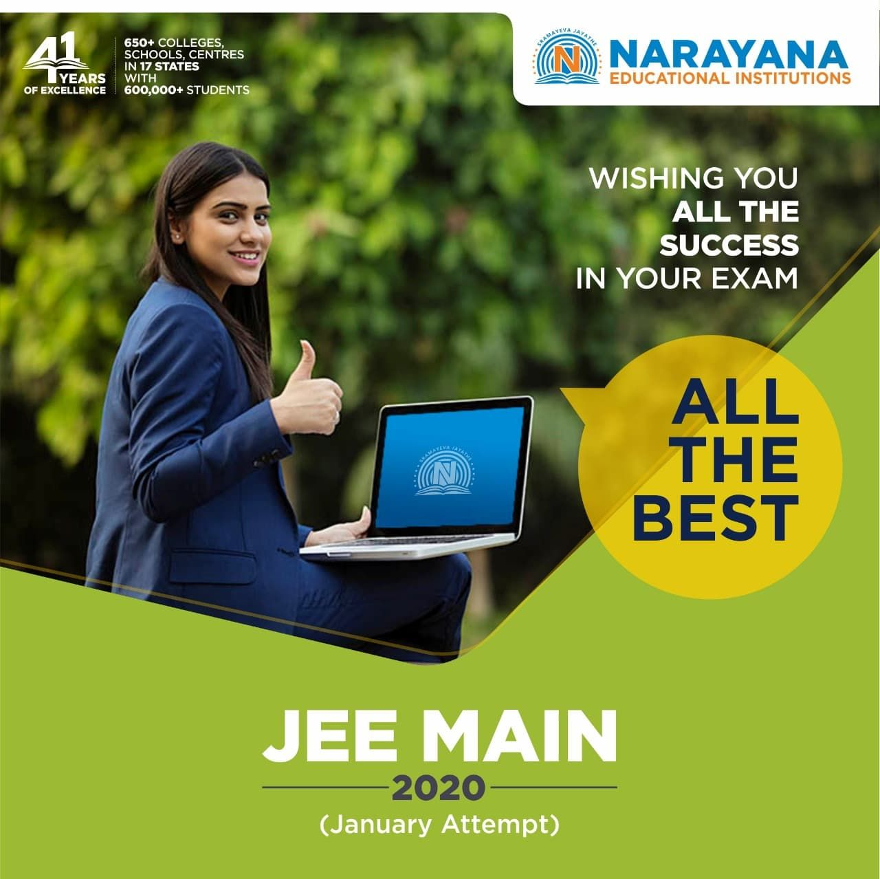 All The Best For Jee Main 2020 In 2020 Coaching Institute In Delhi Coaching Education