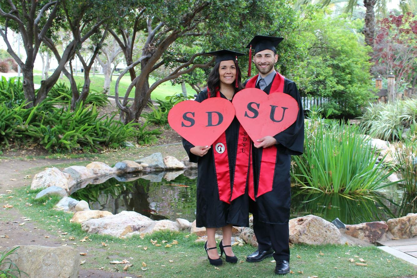 DIY College Sign: ft. SDSU ❤️