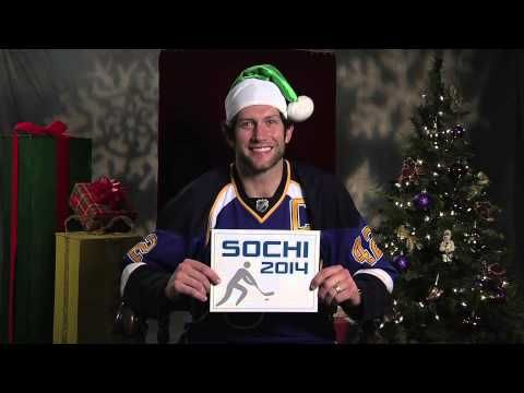 12 Days Of Christmas Outtakes Youtube Hockey Christmas St Louis Blues Blues