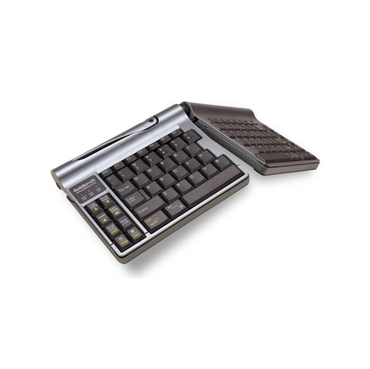 Keyovation Goldtouch Go  Travel Keyboard Aluminum  At A