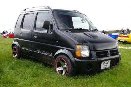 Suzuki Wagon R 1 0 Jdm First Car Cool Van Retro Import Suzuki