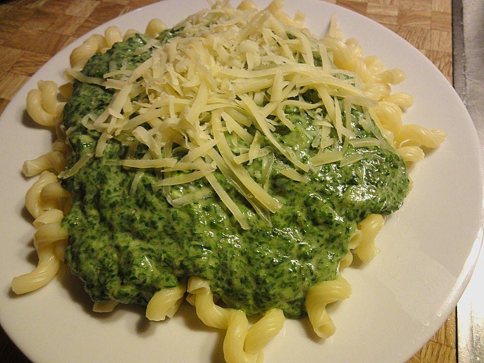Spinat - Frischkäse - Soße 5