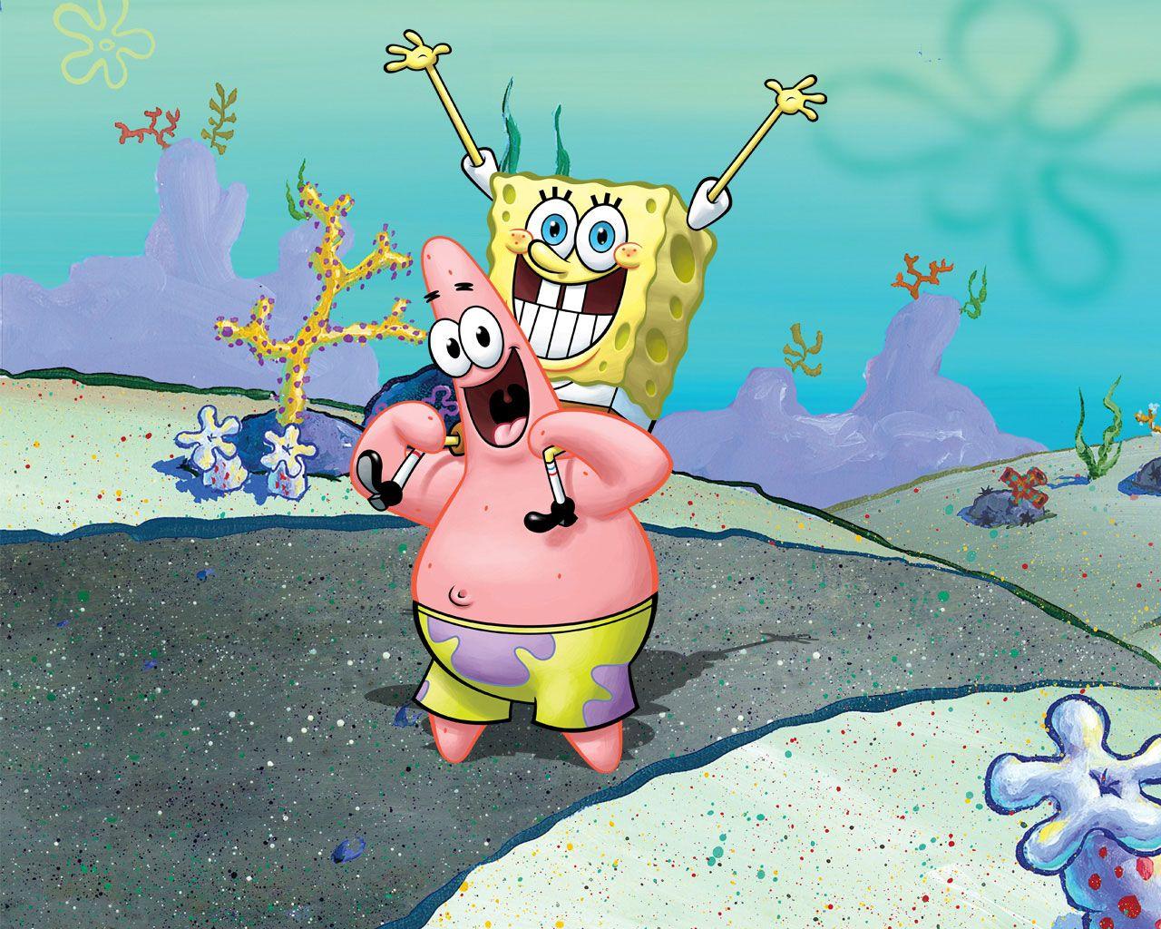 Spongebob Patrick In 2019 Spongebob Patrick Best Friend