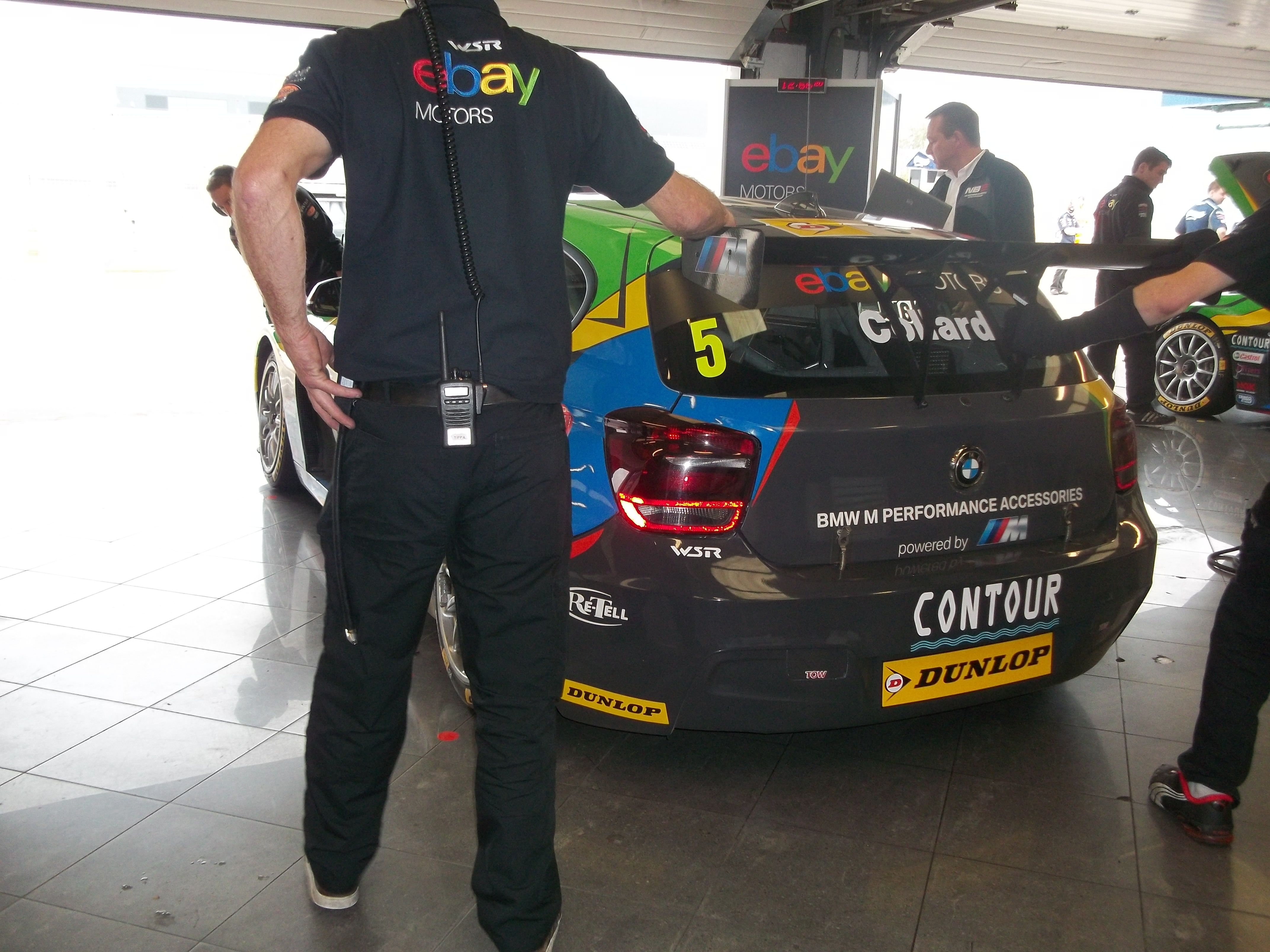 WSR / ebaynotors pit garage BTCC Silverstone 2014 | Events Attended ...