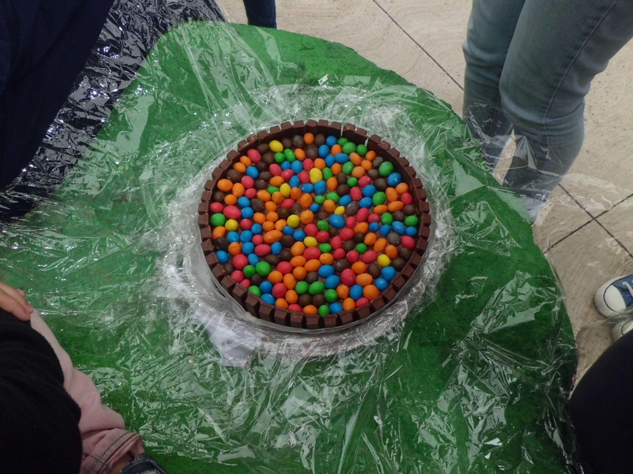 Tarta de m y Kit Kat ^.^