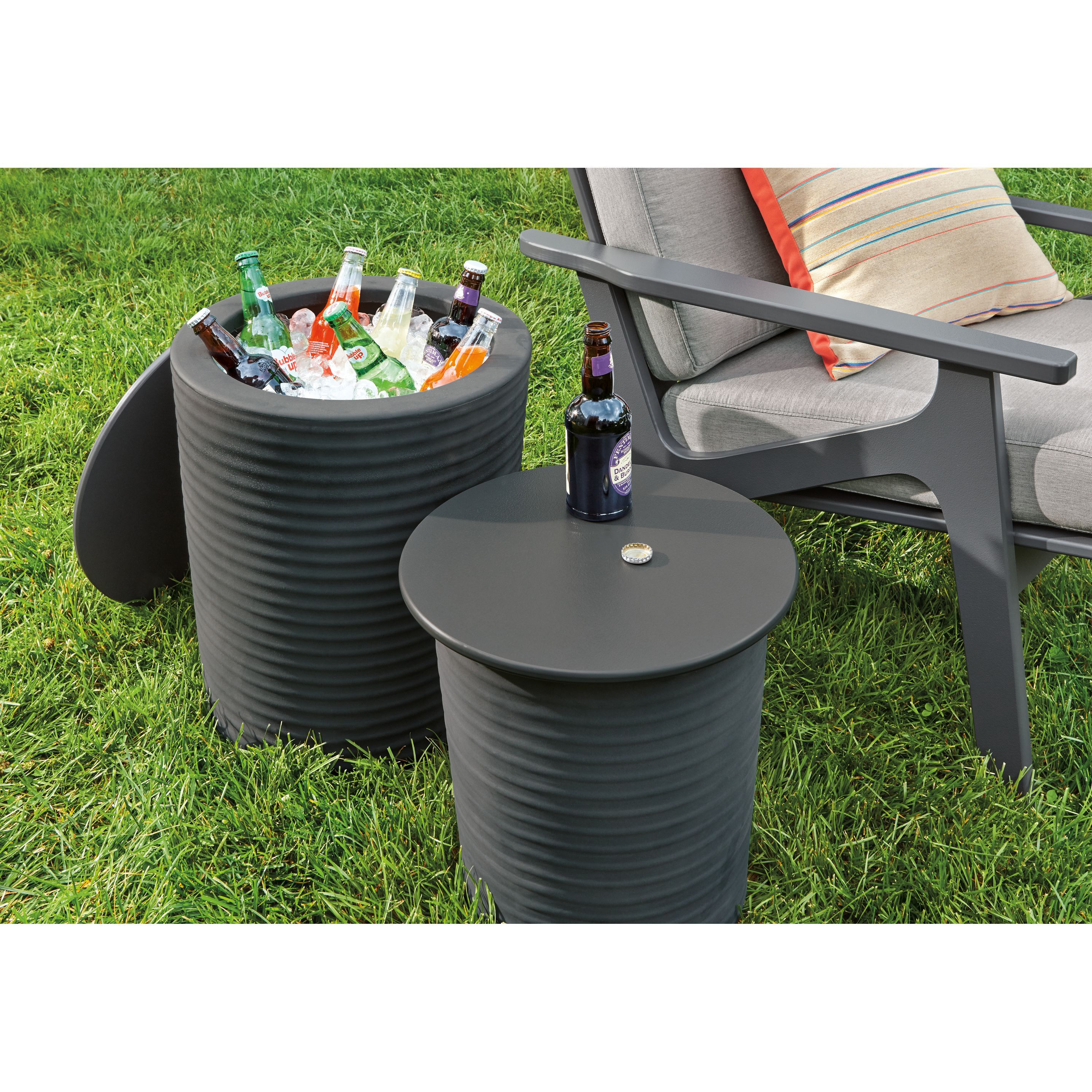 Willa Storage Side Tables Fall Outdoor Pillows Modern Outdoor