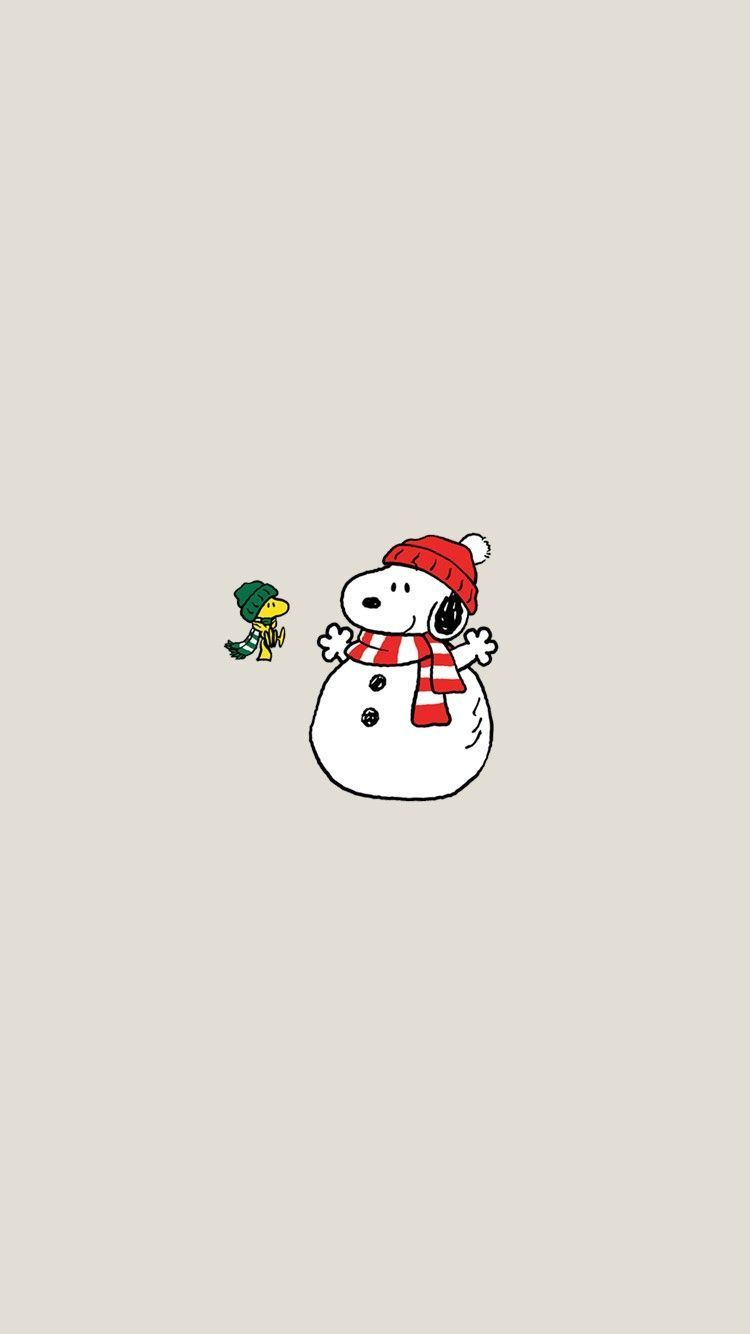 Snoopy Christmas Wallpapers Iphone Christmaswallpaperiphone In