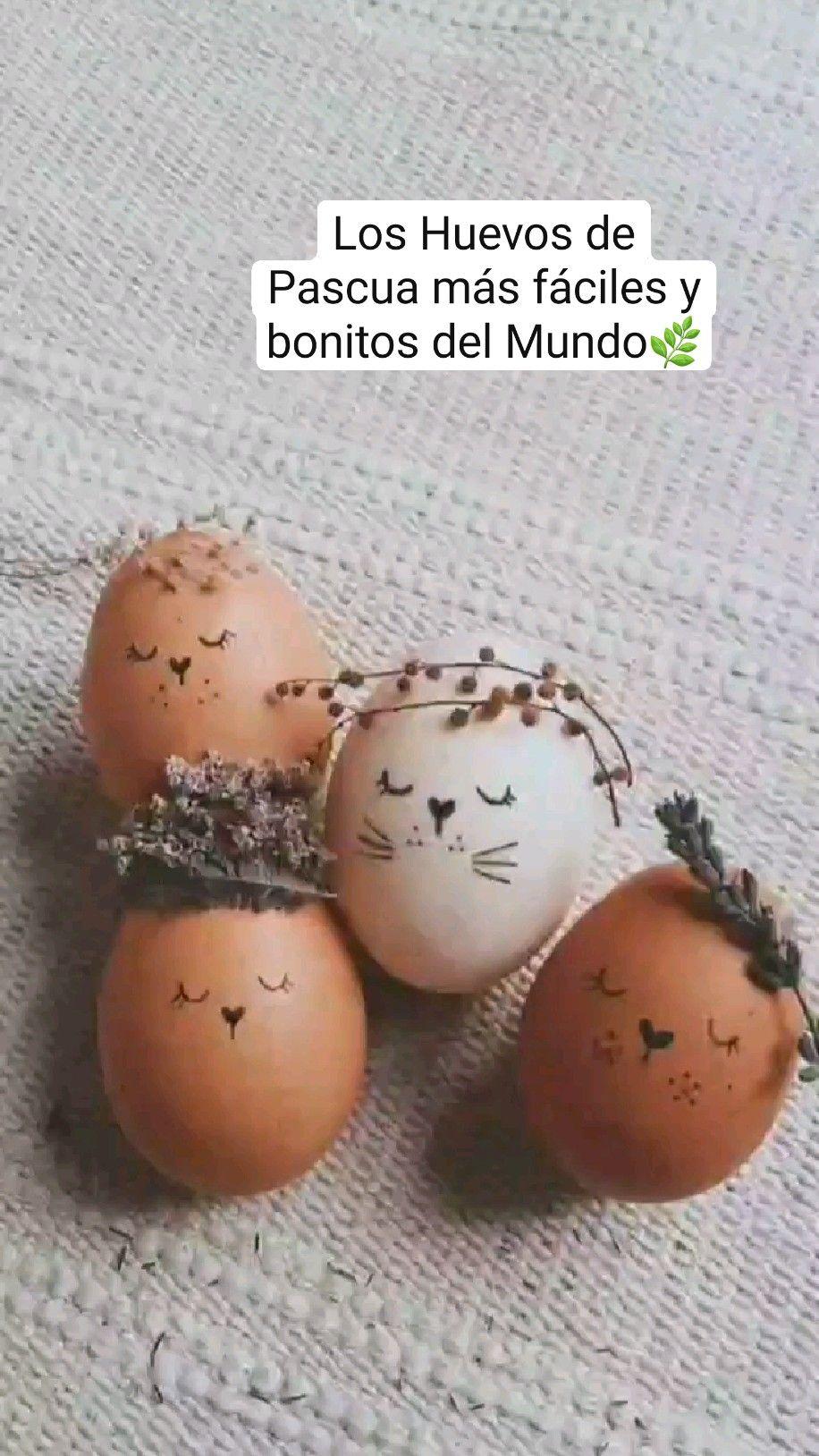 Los Huevos de Pascua más fáciles y bonitos del Mun