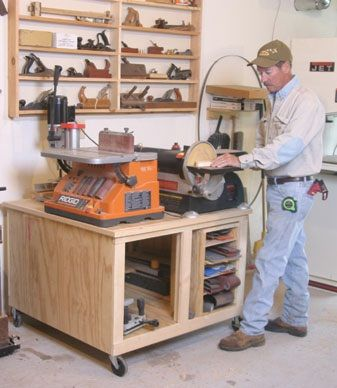 Build A Roll Around Bench Tool Cabinet Wood Stuff