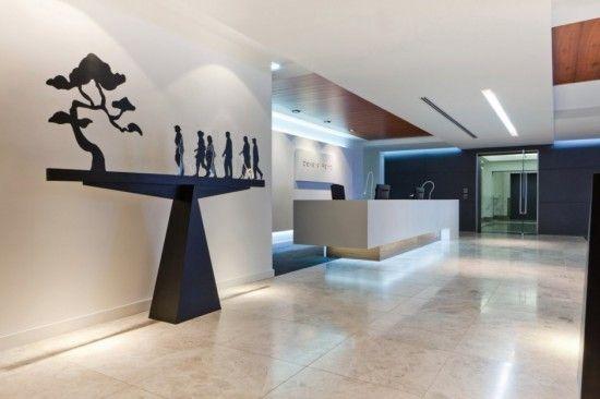 Dise o de interiores oficinas modernas gym pinterest for Decoracion de interiores oficinas