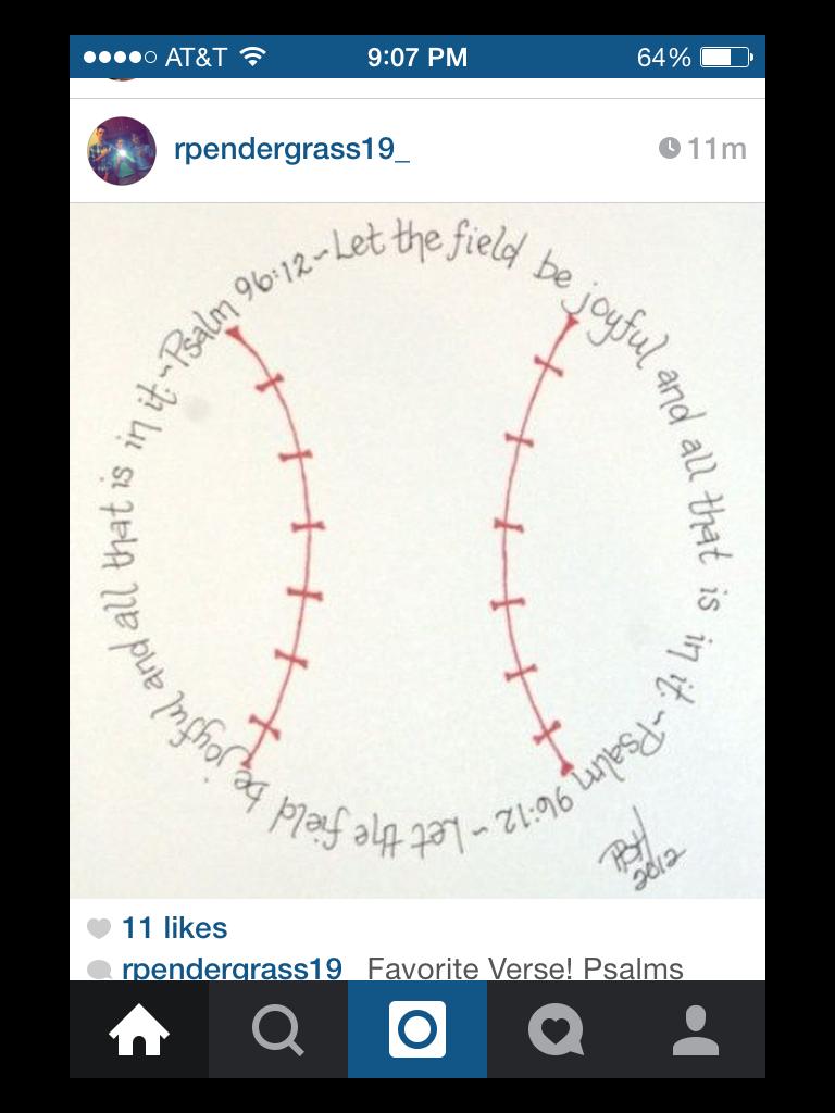 Pin By M Harbin On Baseball Psalms Joy Verse