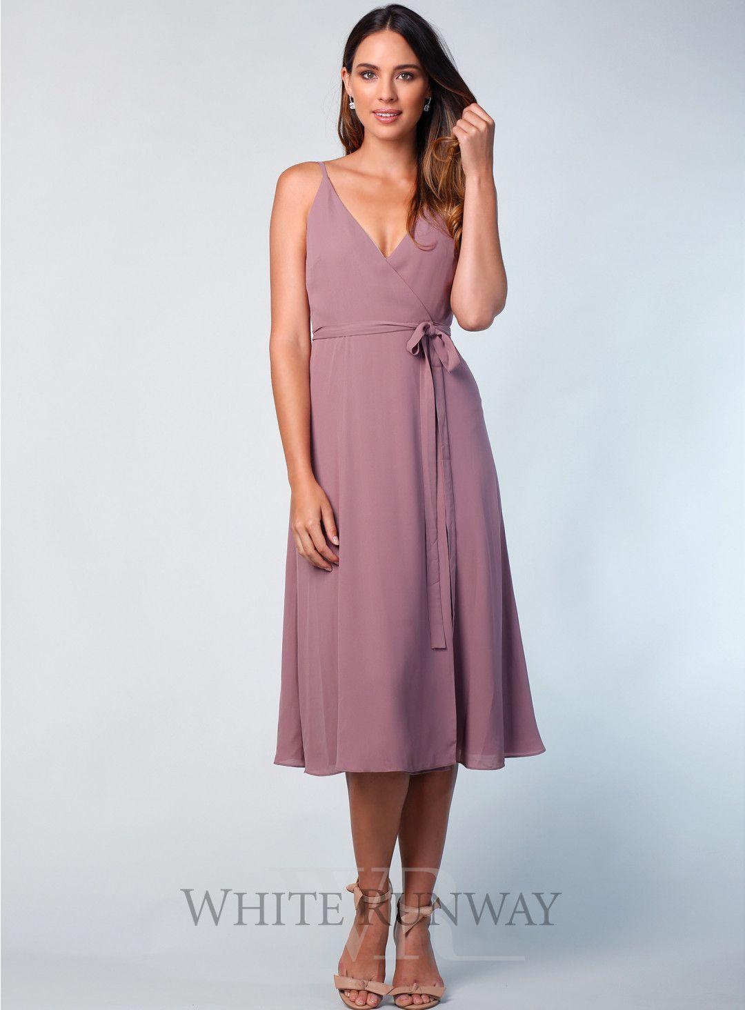fb1bc57167c Camisole Midi. A beautiful midi wrap dress by Samantha Rose. A v-neck