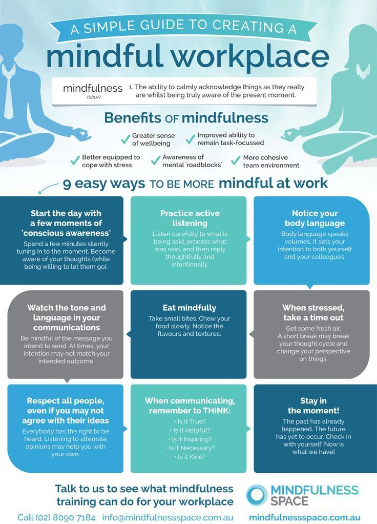 Mindfulness Infographic A Simple Guide to Creating a