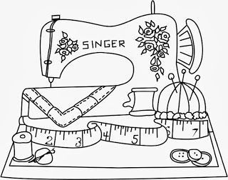 sewing coloring pages - Google Search xx