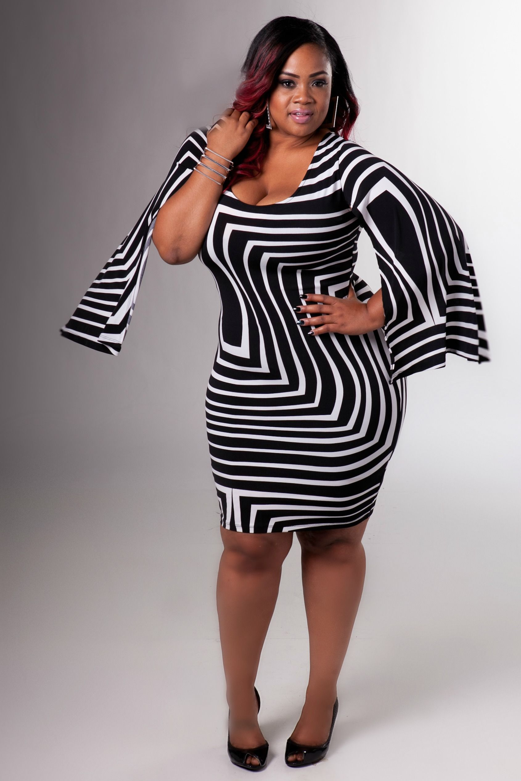 curvy plus size girls | plus size fashion: chic and curvy boutique