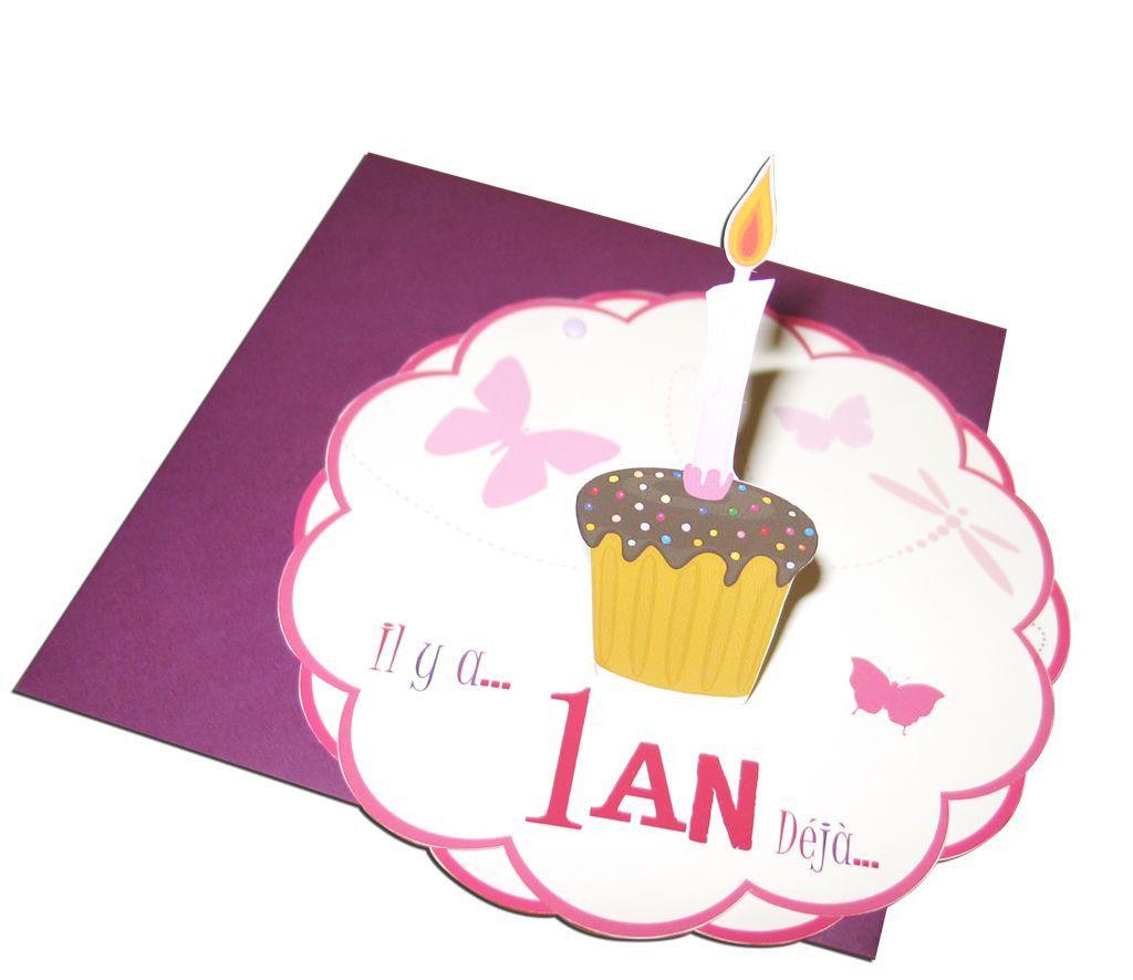 invitation anniversaire 1 an.20 Idées Pour Carte Anniversaire 1 An