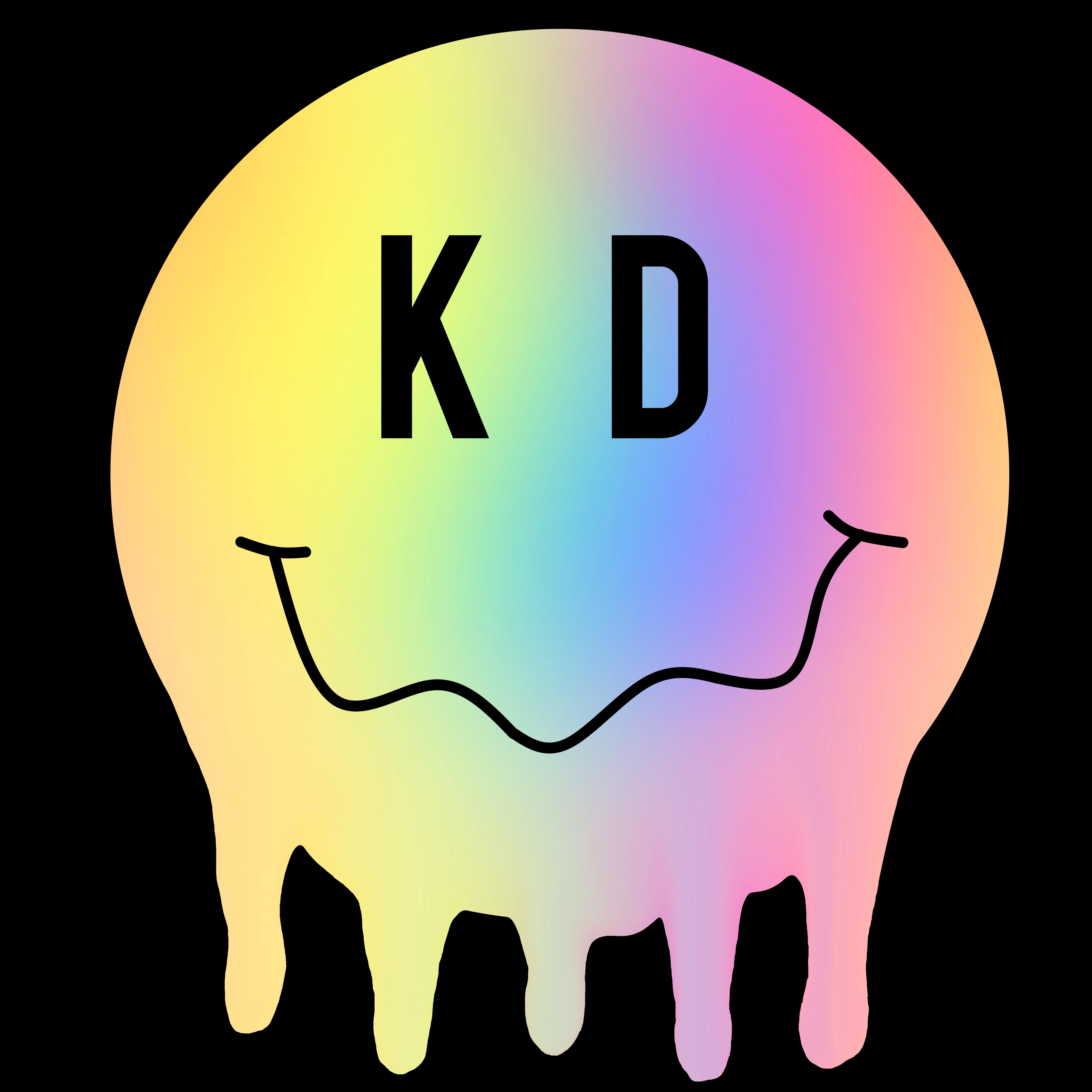 Kappa Delta Happy Face Drip Kappa Delta Happy Face Happy
