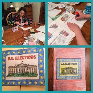 The McClanahan 7: Home School in the Woods U.S. Elections Review @HSintheWoods #HSReviews #HistoryUnitStudies #HomeschoolHistory