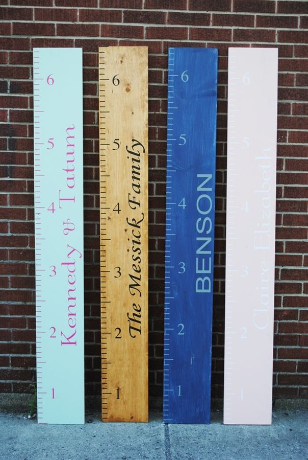 Diy wooden growth chart super cute growthchart also tutorial skinny ms mom pinterest rh
